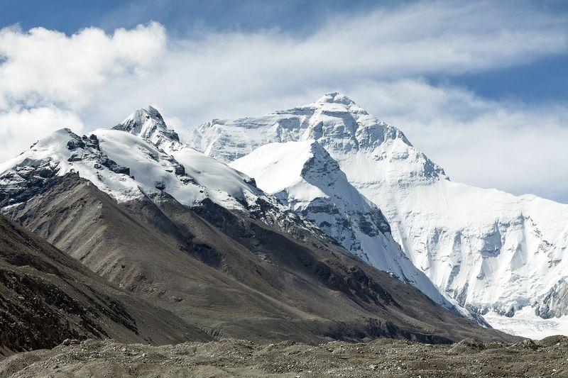 Tibet Berge Schnee