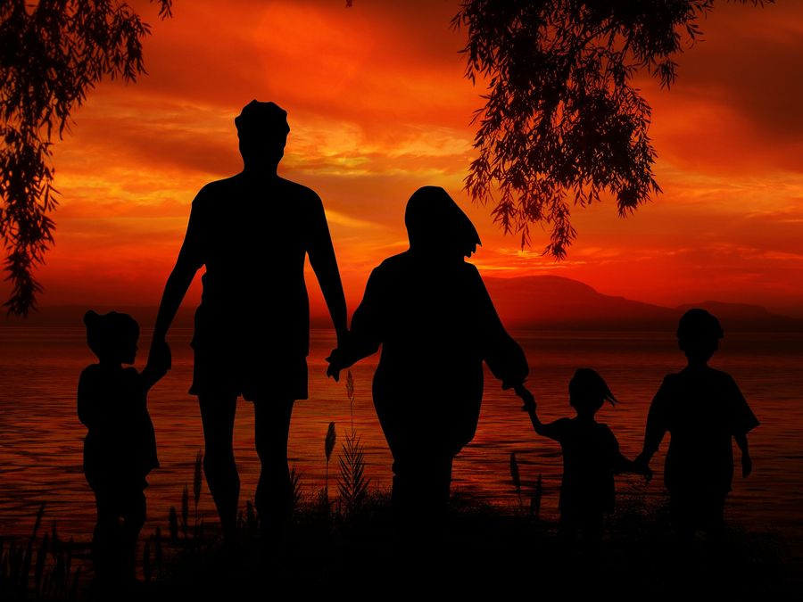 Angehörigenvisum Familie sehen