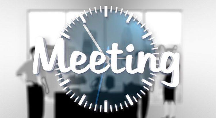 Geschäftliches Meeting in China