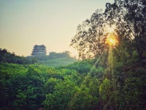 Sonnenaufgang Hainan