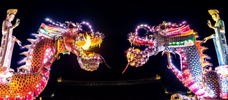 Kultur China Drachen