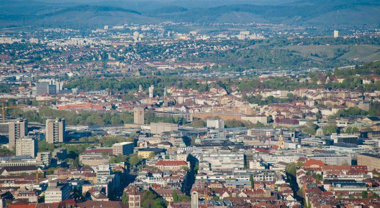 Stuttgart Stadt Panorama