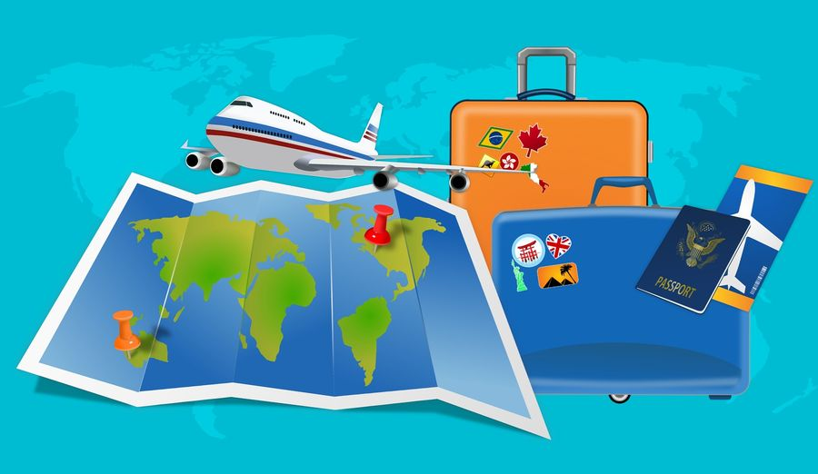 Reiseunterlagen Visum Buchung