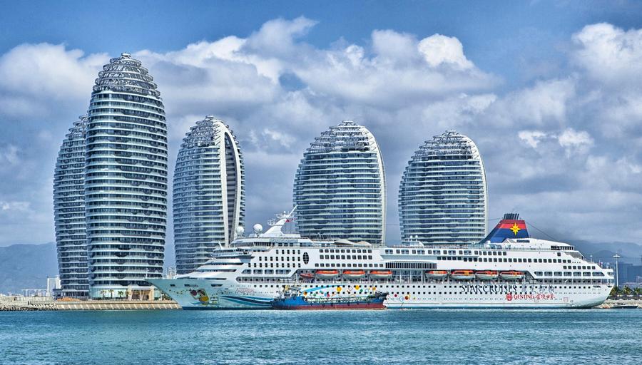 Kreuzfahrtschiff Hainan mit Gruppenvisum